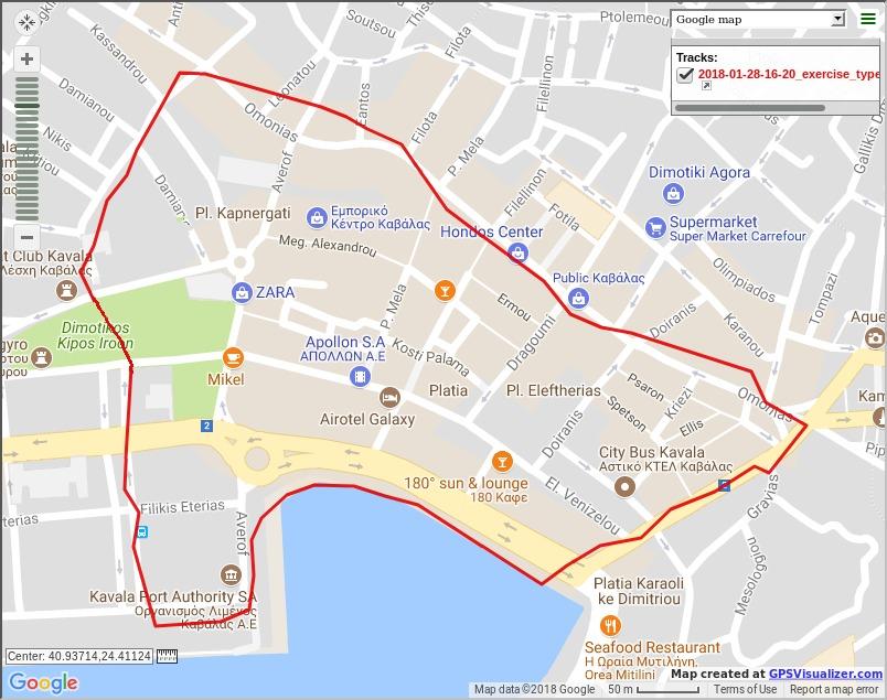Βόλτα στο κέντρο της πόλης