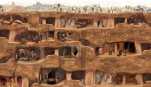 Derinkuyu: The Tumultuous History of Turkey's Underground City