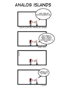 Analog Islands — Geek&Poke